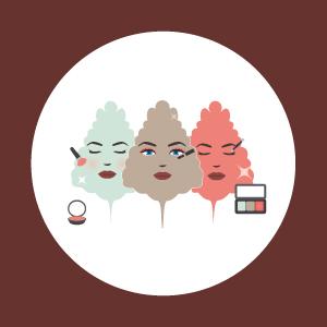 Maquillaje cosmética natural