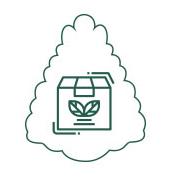 Productos de cosmética con packing reciclaje