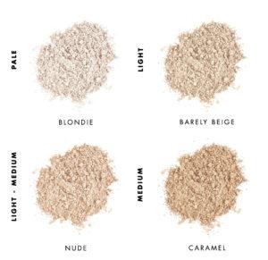 Tabla comparativa de Corrector Mineral Lily Lolo