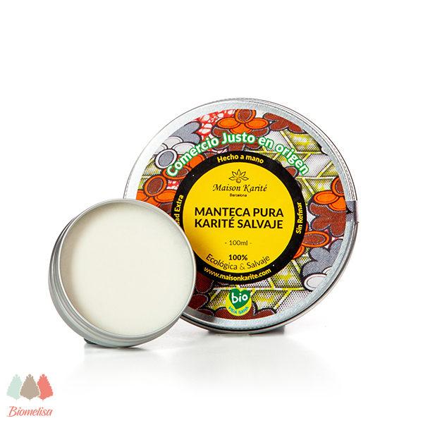 Maison Karite + Biomelisa _ 032 + Manteca Pura Karité Salvaje BIO